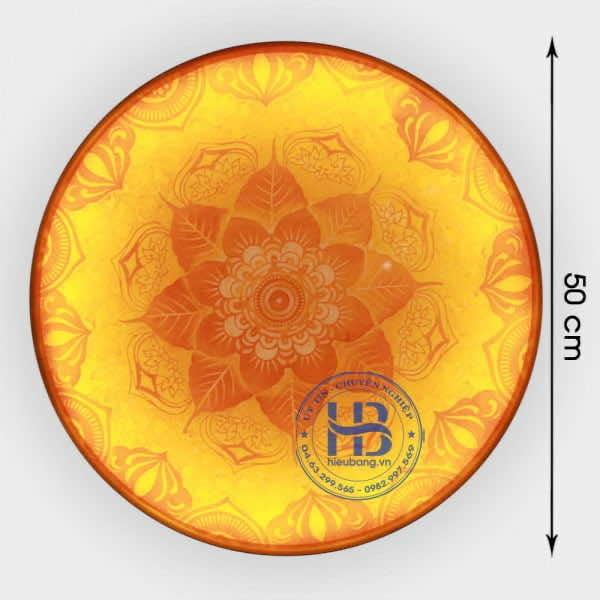 Tranh Trúc Chỉ tròn 50cm Dùng Cho Bàn Thờ Phòng Thờ tại Hà Nội   Hiếu Bằng