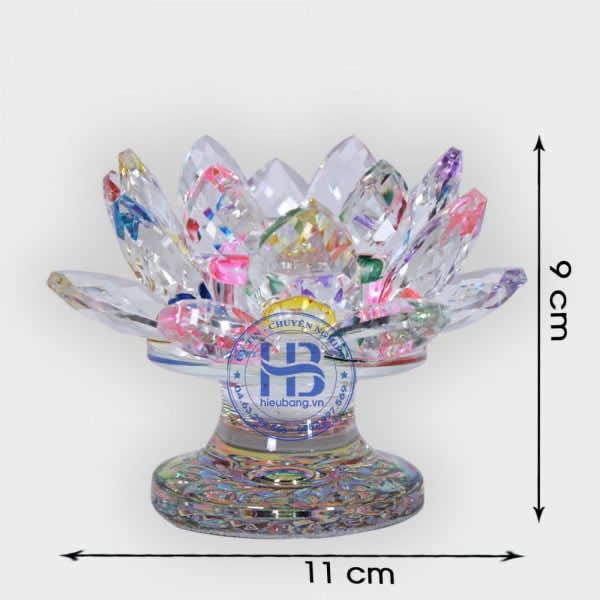 Đế nến hoa sen pha lê cao cấp đẹp giá rẻ ở Hà Nội   Hiếu Bằng