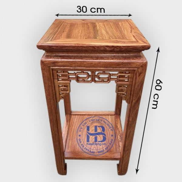 Đôn kê tượng bằng gỗ Hương 30x60cm Giá rẻ Tại Hà Nội | Có Hình Ảnh Và Video Chi Tiết