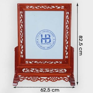 Khung Ảnh Thờ 35x50cm Kép Hoa Gỗ Hương Cao Cấp Tại Hà Nội | Nhiều Mẫu Đẹp