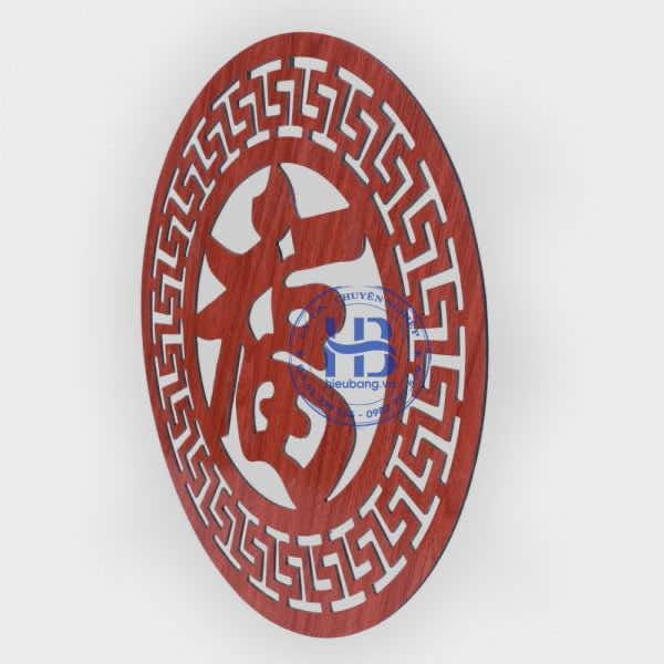 Tấm Trang Trí Bàn Thờ Chữ Phúc hán 40cm Đẹp Giá Rẻ ở Hà Nội | Hiếu Bằng