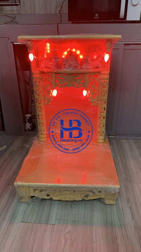 Bàn thờ thần tài đẹp giá rẻ ở Hà Nội