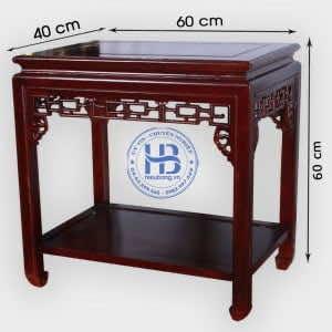 Đôn gỗ Hương 40x60cm Đẹp Giá Rẻ ở Hà Nội | Nhận Đặt Làm Theo Yêu Cầu
