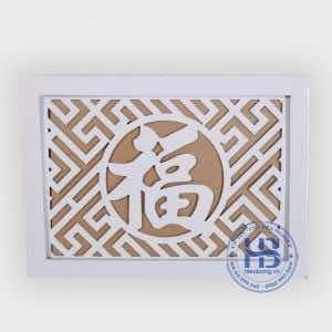 Tấm Chống Ám Khói Màu Trắng gỗ Sồi 41, 61, 81 Đẹp Giá Rẻ ở Hà Nội | Hiếu Bằng