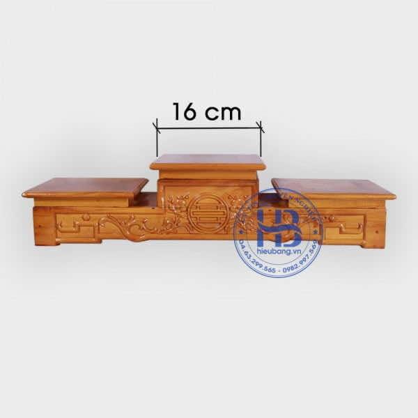 Tam Sơn Đế Bát Hương Gỗ Mít 16cm Đẹp Giá Rẻ Ở Hà Nội | Hiếu Bằng