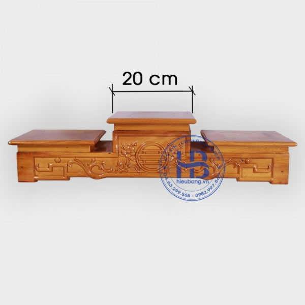 Tam Cấp Bàn Thờ Gỗ Mít 20cm Gỗ Mít Đẹp Giá Rẻ Ở Hà Nội | Hiếu Bằng
