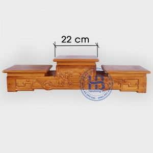 Tam Cấp Bàn Thờ Gỗ Mít 22cm Gỗ Mít Đẹp Giá Rẻ Ở Hà Nội | Hiếu Bằng