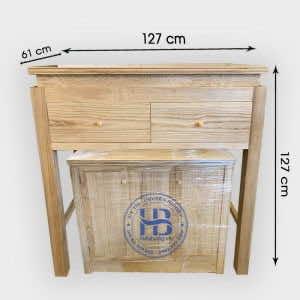 Ban Thờ Chung Cư Gỗ Sồi 127x61cm Đẹp Giá Rẻ Hà Nội | Hiếu Bằng