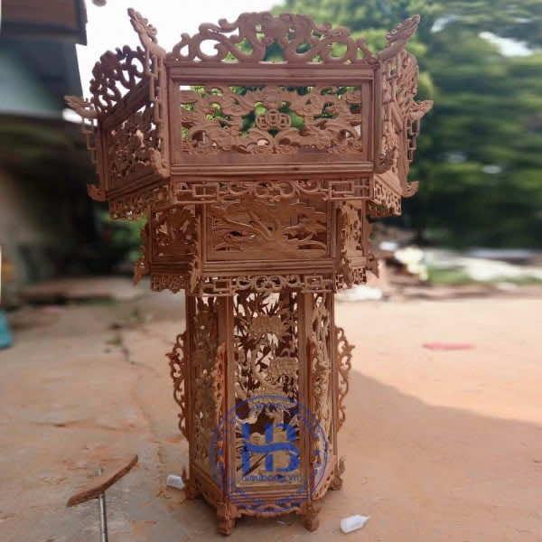 Đèn Lồng Gỗ Hương 120cm Cao Cấp Đẹp tại Hà Nội | Hiếu Bằng .VN