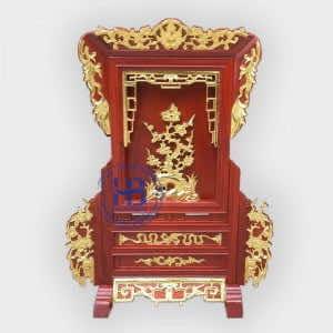 Giá Gương Thờ Dát Vàng Gỗ Hương 20x30cm Cao Cấp tại Hà Nội