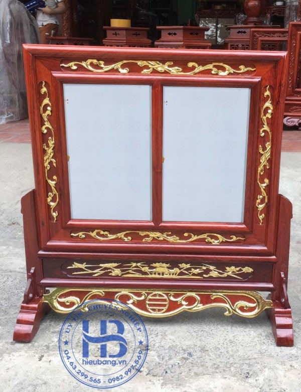 Khung Ảnh Thờ Đôi Đẹp Dác Vàng 20x30cm tại Hà Nội | Hiếu Bằng.VN