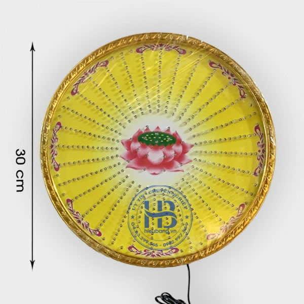 Đèn Hào Quang Led Hoa Sen 32 Kiểu Ảnh Sáng Cao Cấp Đep Giá Rẻ Hà Nội